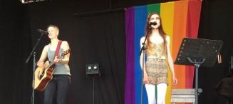 Live at Stockholm Pride 2013. © Karin Agatonne/Astor Wolfe