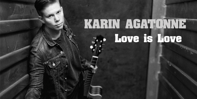 Karin Agatonne_Love is Love_EP_ FRONT COVER_WP STICKY